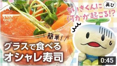 ちいきくん動画 オシャレ寿司