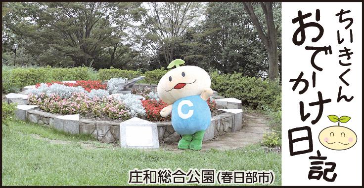 ちいきくんおでかけ日記 庄和総合公園